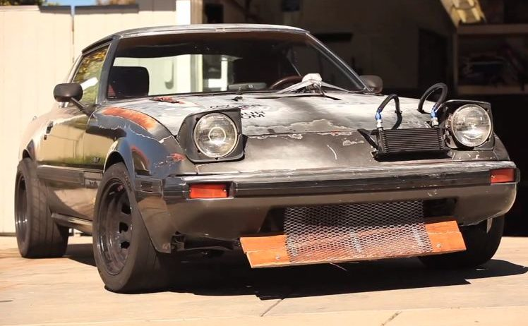 """Video: The """"Zero !$#@ Given"""" RX-7 Is An Ugly, 5.0 Powered Brute"""