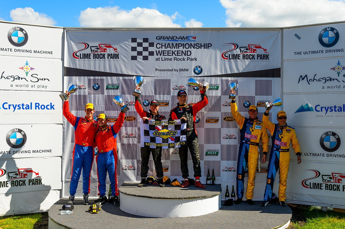 ROUSH Caps Grand-Am Season With Win At Lime Rock