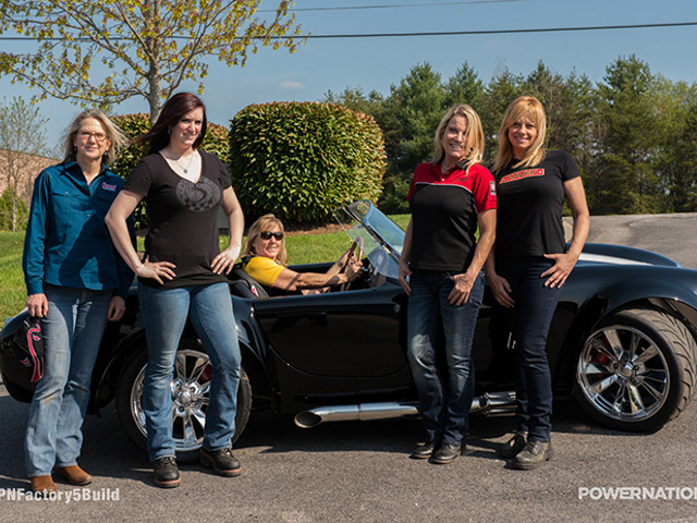 Factory Five And All-Girl Team Pair Up For A Pro Women's 427 Build