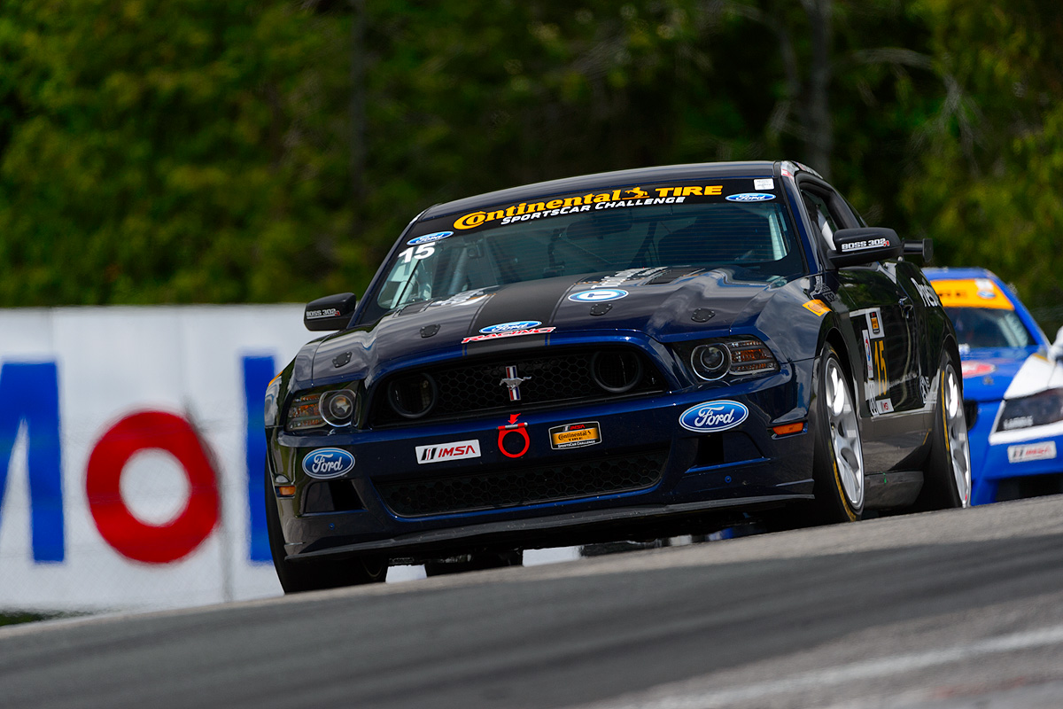 Mustangs Podium At Canadian Tire Motorsports Park IMSA Stop