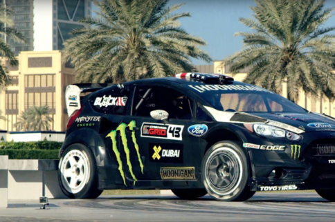 Video: Behold... Gymkhana Eight Is Madness On Wheels