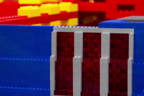 Video: Turning LEGO Bricks Into A Life-Size Ford Mustang