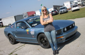 Becki Belcher And Borrowed Car Heading To NMRA All-Ford World Finals