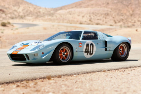 Blue Oval Icons: The Le Mans-Winning GT40 Supercar