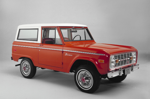 Blue Oval Icons: Ford's Rugged Sport Utility, The Bronco