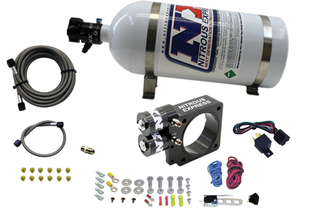 Integrated Nitrous Plate Offers Clean 250HP Shot