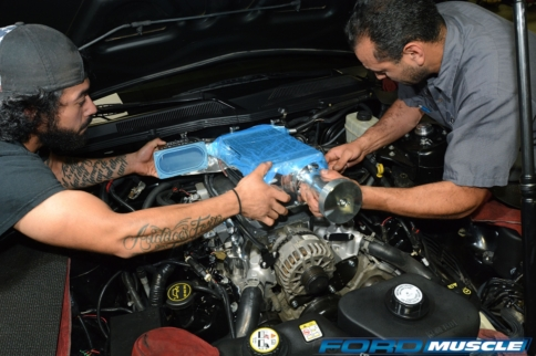 Bolting 10 PSI Of Twin-Screw Boost Onto A 2006 Mustang GT
