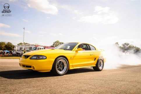 Twin-Turbo Cobra Sets Manual-Trans Quarter-Mile Record