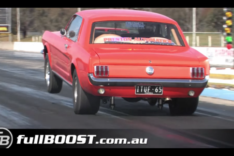 What's Under The Hood Of This 8-Second '65 Mustang?
