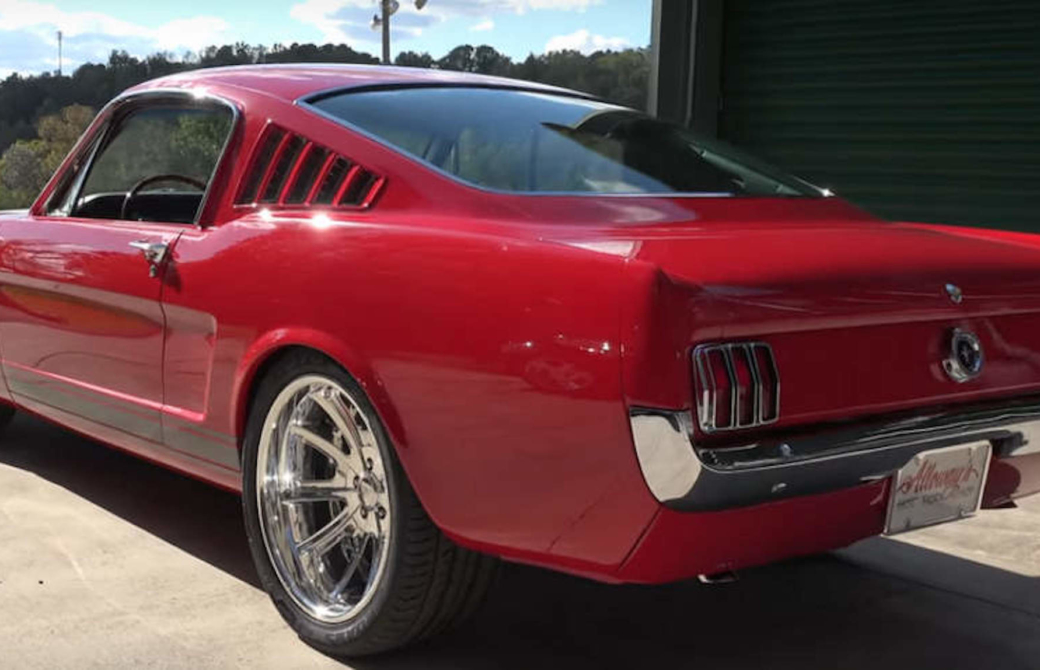 Stunning 1965 Mustang Restomod Stands Out