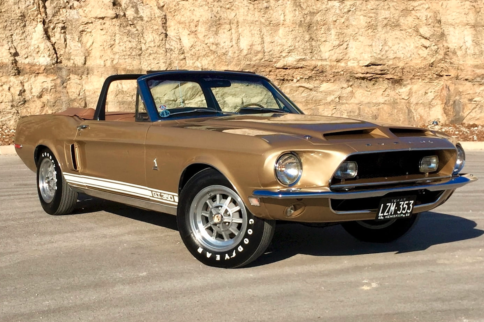 Rare, One-Of-Two Shelby GT350 Set For Auction