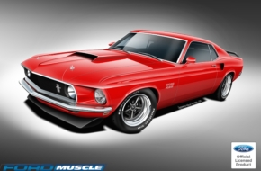 You Can Buy A New 1969-1970 Boss 302, Boss 429, Or Mach 1