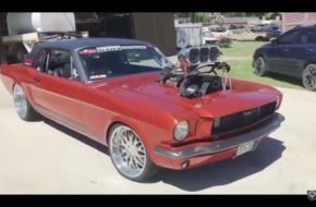 Passenger-Seat View As 1,000HP S1CKO Mustang Destroys Its Rear Tires