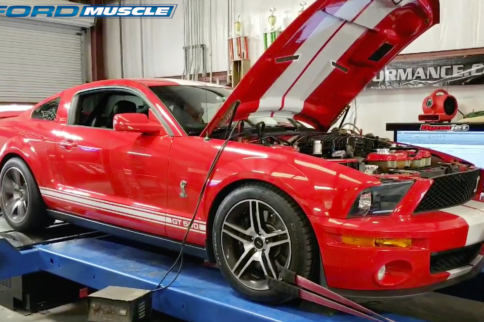 Twin-Screw Blower Boosts 2007 Shelby GT500 To Nearly 1,000 RWHP